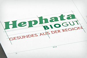 Corporate Design – Hephata BIOGUT
