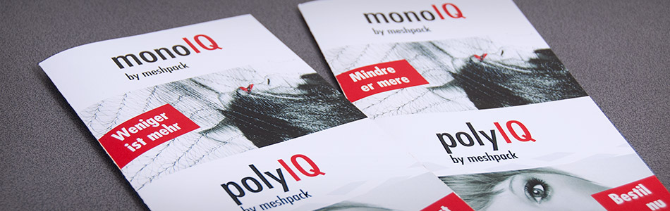 Corporate Design – meshpack – monoIQ und polyIQ