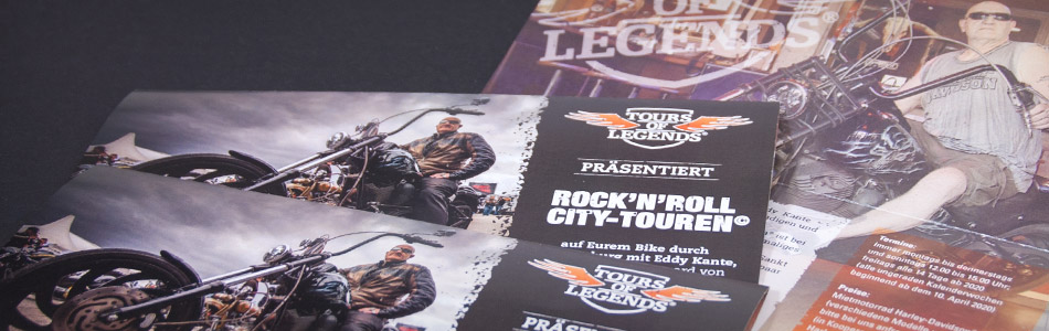 "TOURS OF LEGENDS® präsentiert Eddy Kante's ""Rock'n'Roll City Touren"""