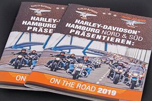 "Printdesign – Harley-Davidson® Hamburg Nord & Süd und Tours of Legends® – ""On the Road 2019"""