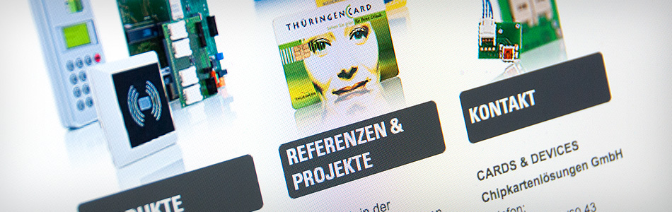 Webdesign – CARDS & DEVICES Chipkartenlösungen GmbH