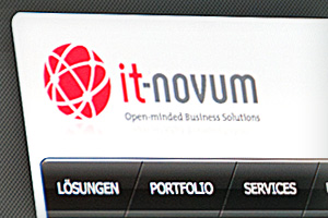 Webdesign – it-novum GmbH