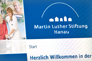 Webdesign – Martin-Luther-Stiftung